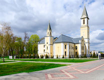 Церковь рождества благословленной девой марии, Gomel, Беларуси Стоковые Изображения