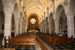 Церковь рождества в Вифлееме Стоковая Фотография RF