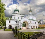 Церковь рождества в Yaroslavl Россия стоковая фотография