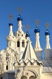 Церковь рождества Theotokos на части Putinki Стоковые Изображения RF