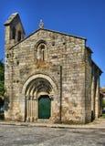 Церковь романск Cedofeita в Oporto стоковое фото