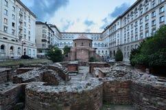 Церковь ротонды St. George в Софии стоковые фотографии rf