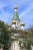 Церковь русского Софии стоковая фотография