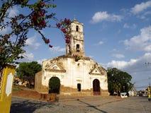 Церковь Санта-Ана в Тринидаде Стоковое Фото