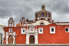 Церковь Санто Доминго - Пуэбла, Мексики Стоковые Изображения