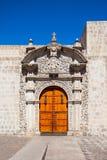 Церковь Санто Доминго Стоковая Фотография