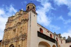 Церковь Санто Доминго, San Cristobal de Las Casas, Мексика Стоковые Фото