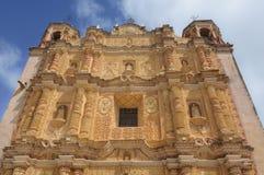 Церковь Санто Доминго, San Cristobal de Las Casas, Мексика Стоковые Фотографии RF