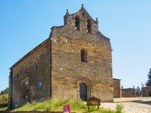 Церковь Сантьяго - Вильяфранки del Bierzo стоковые изображения