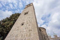 Церковь Сантьяго del Arrabal в Toledo Стоковая Фотография RF