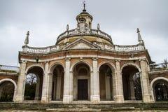 Церковь Сан Антонио. Дворец Аранхуэса, Мадрида, Испании стоковые изображения rf