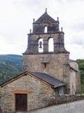 Церковь Сан Джулиана - Las Herrerias стоковая фотография rf