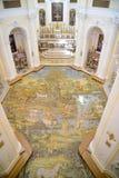 Церковь Сан Мишели в Anacapri - острове Капри, Италии Стоковая Фотография