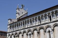 Церковь Сан Мишель-Лукки Италии Стоковые Изображения RF