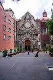 Церковь Сан-Франциско, Мехико стоковое фото rf