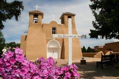 Церковь Сан-Франциско de Asis Полета в Неш-Мексико стоковое фото rf