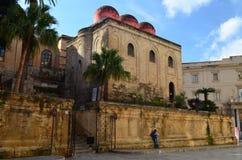 Церковь Сан Cataldo Палермо Италия Стоковое фото RF