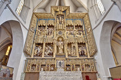 Церковь Сан Pablo на Сарагосе, Испании Стоковое фото RF