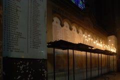 церковь свечки Стоковые Изображения RF