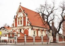 Церковь Святого Антония Падуи в Przemysl Польша стоковые изображения