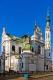 Церковь святого спасителя в Варшаве Стоковые Изображения RF