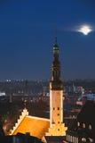 Церковь святого духа на ноче Стоковые Изображения RF
