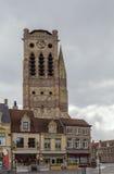 Церковь Святого Nicolas, Veurne, Бельгии Стоковые Фото