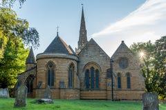 Церковь святого Sepulchre Нортгемптона Англии Стоковое Фото