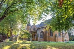 Церковь святого Sepulchre Нортгемптона Англии Стоковая Фотография RF