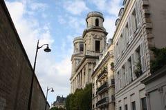 Церковь Святого-Sulpicу стоковые фотографии rf