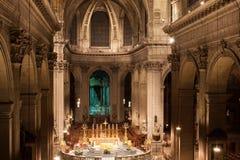 Церковь Святого-Sulpice Стоковое Изображение RF