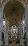 Церковь Святого Walburga, Veurne, Бельгии Стоковое Изображение