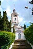 Церковь святой троицы в cvartal Schei, Brasov Стоковые Фото