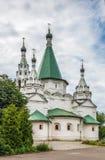 Церковь святой троицы в Troitse-Golenishchevo, России стоковые фотографии rf