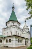 Церковь святой троицы в Troitse-Golenishchevo, России стоковая фотография