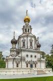 Церковь святой троицы, Москва, Россия стоковое фото rf