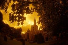 Церковь святой троицы Стратфорд стоковая фотография