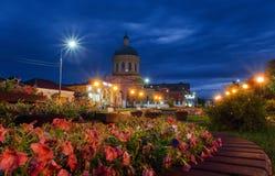 Церковь святой троицы (Ozery) Стоковое Фото