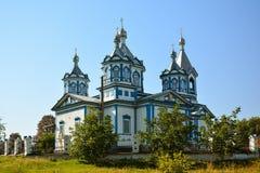 Церковь 3 Святых в Pryluky, области Chernihivska, Украине B Стоковое Изображение