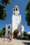 Церковь Святых Кирилла и Methodius 19-ого июля 2015 в городке Sozopol, Болгарии Стоковая Фотография