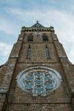 Церковь Свят-Hubert, Aubel, Бельгия Стоковые Изображения RF