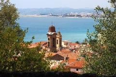 Церковь Свят-Jacques le Majeur, славная, Франция Стоковое Фото