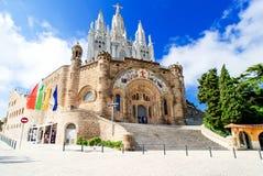 Церковь священного сердца Стоковые Изображения