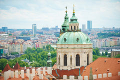 Церковь Св.а Франциск Св. Франциск в Праге Стоковое Фото