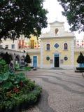 Церковь Св.а Франциск Св. Франциск Xavier, Макао Стоковое Фото