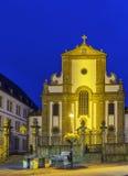 Церковь Св.а Франциск Св. Франциск Xavier, Падерборн, Германия стоковое изображение
