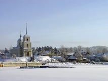 церковь северная правоверная Россия Стоковые Фотографии RF