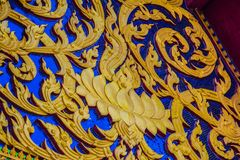 Церковь северной архитектуры тайская сделанная по образцу стоковое изображение