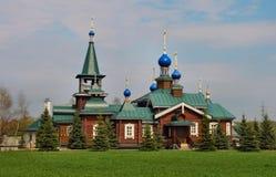 Церковь села Стоковое Изображение