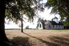 церковь сельская Стоковые Изображения